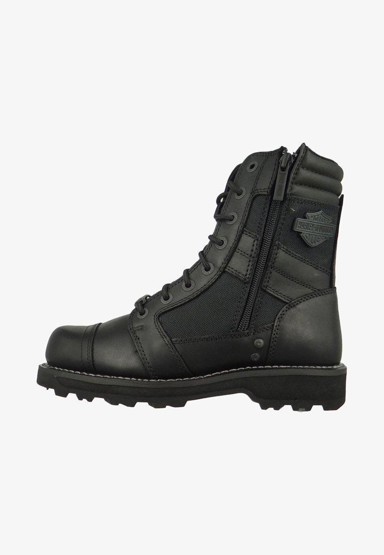 Harley Davidson - Schnürstiefelette - black