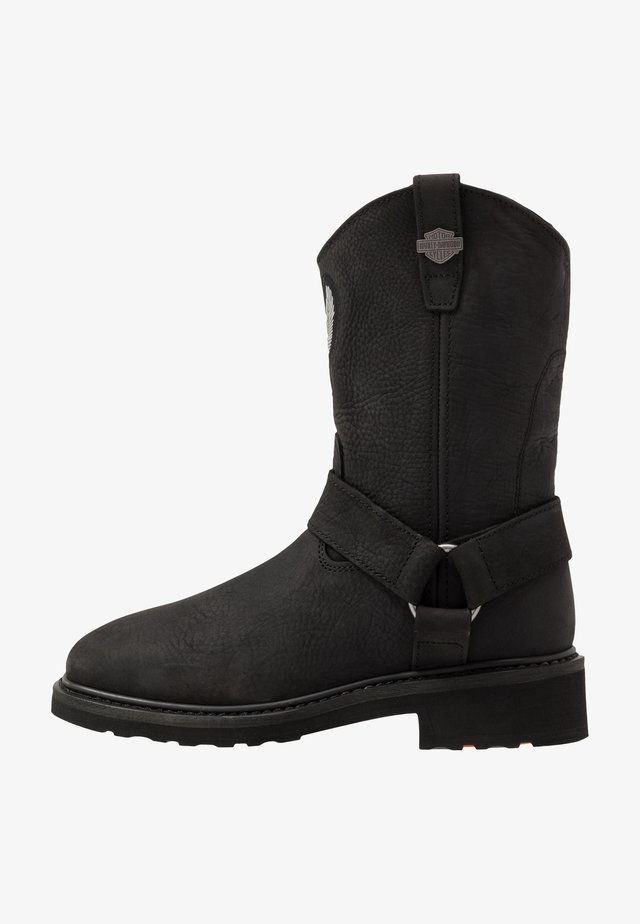 BALLARD - Cowboy-/Bikerboot - black