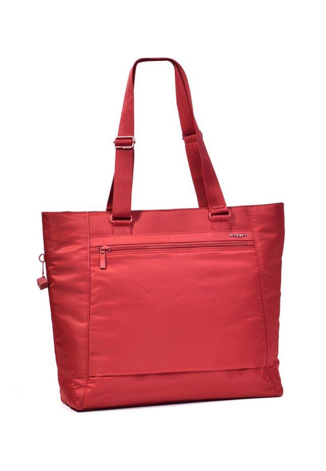 ELVIRA - Shopping Bag - red