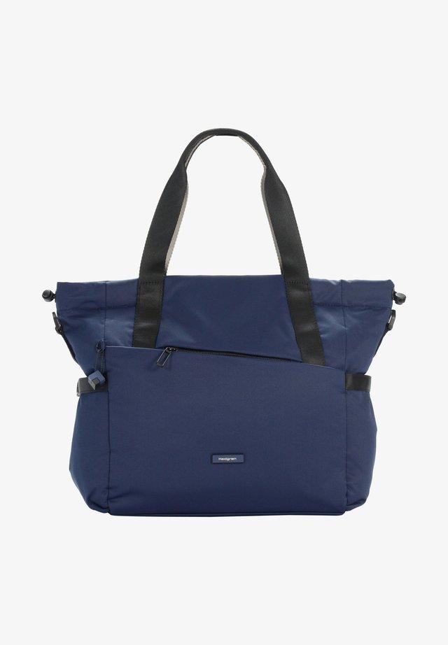 Tote bag - halo blue