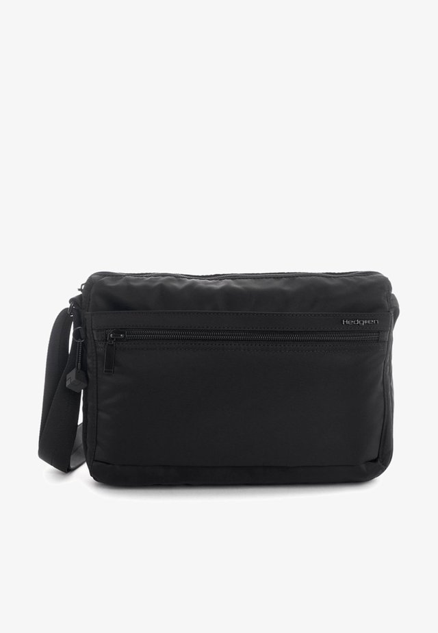 INNER CITY EYE M UMHÄNGETASCHE RFID 29 CM - Across body bag - black