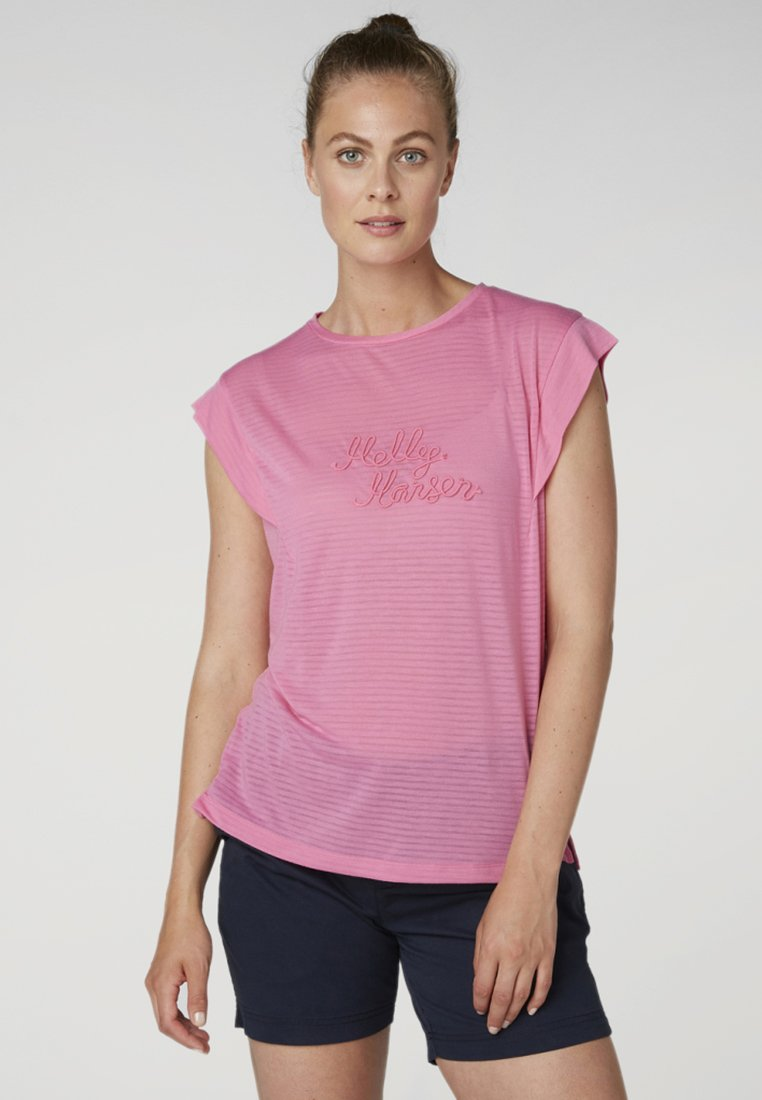 Helly Hansen - Print T-shirt - pink