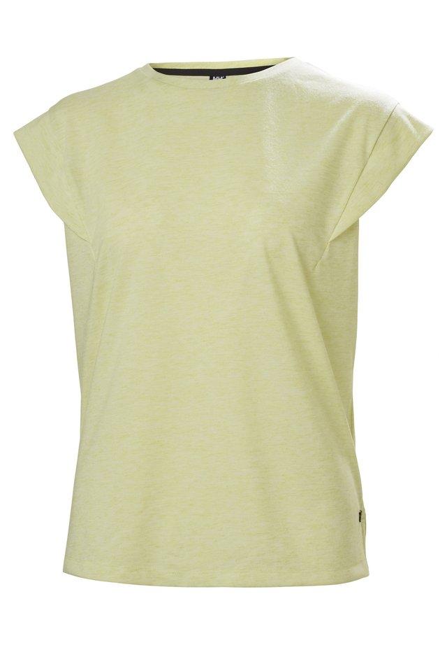 T-Shirt basic - gelb