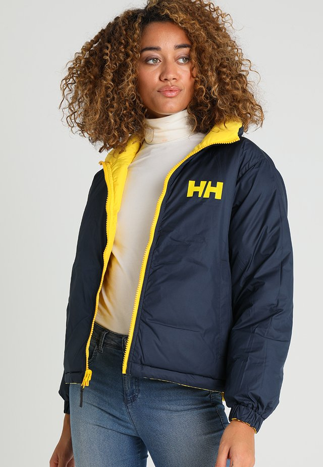 URBAN REVERSIBLE JACKET - Winter jacket - yellow
