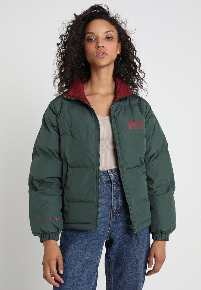 URBAN REVERSIBLE JACKET - Winter jacket - jungle green