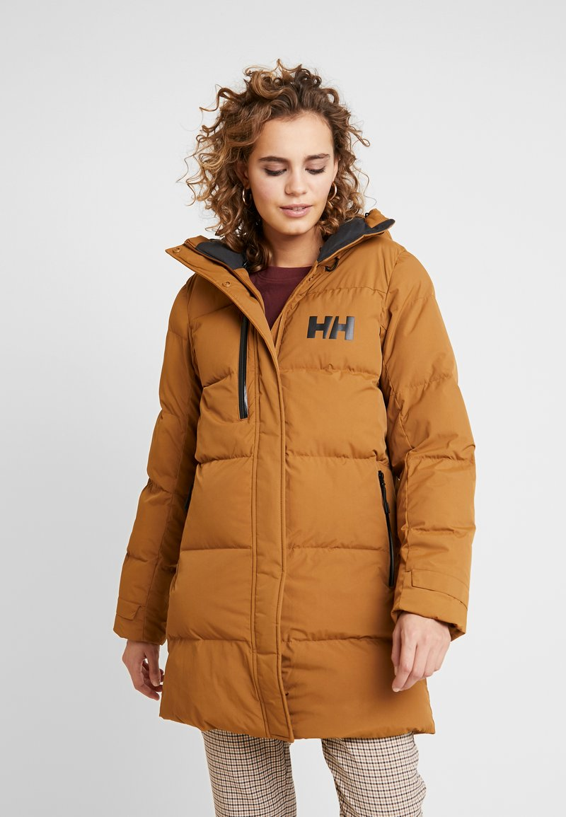Helly Hansen - ADORE PUFFY PARKA - Parka - cedar brown