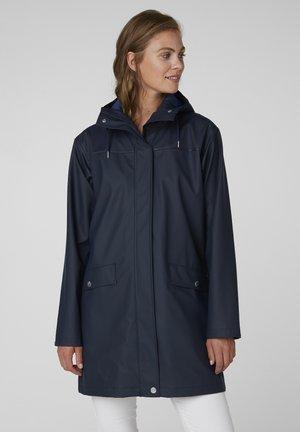 Waterproof jacket - blue