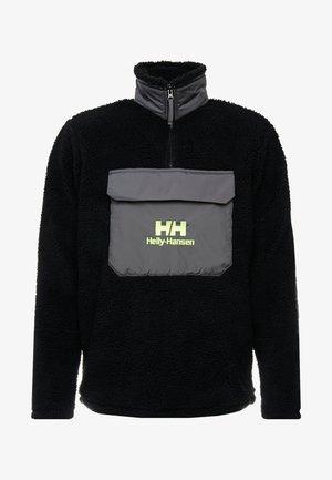 ZIP PILE - Bluza z polaru - black