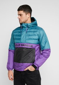 Helly Hansen - QUILTED ANORAK - Chaqueta de entretiempo - washed teal - 0