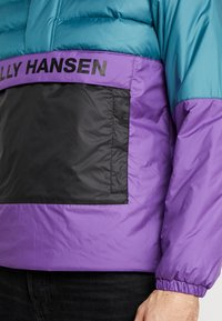Helly Hansen - QUILTED ANORAK - Chaqueta de entretiempo - washed teal - 5