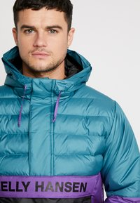 Helly Hansen - QUILTED ANORAK - Chaqueta de entretiempo - washed teal - 3