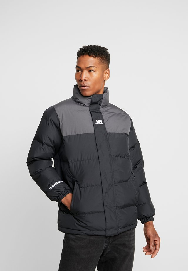 REVERSIBLE PUFFER JACKET  - Winter jacket - black