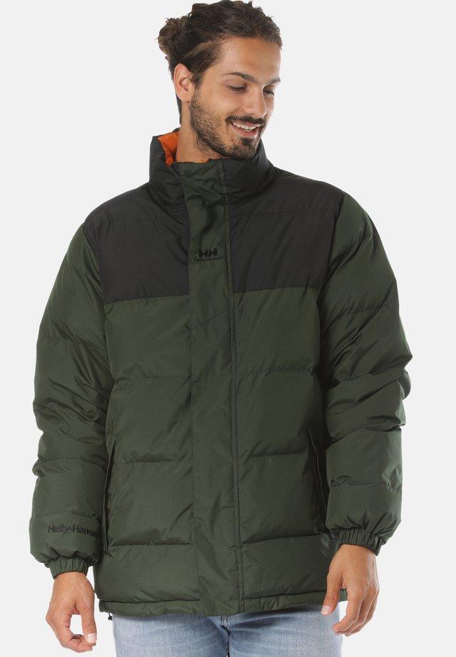 YU PUFFER - Winter jacket - green