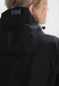 Helly Hansen - LONG BELFAST JACKET - Outdoorjas - black - 4