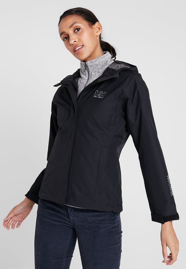 SEVEN JACKET - Hardshell-jakke - schwarz