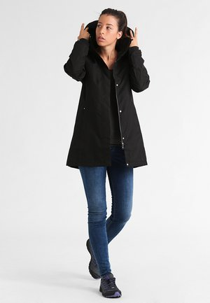 ADEN  - Halflange jas - black