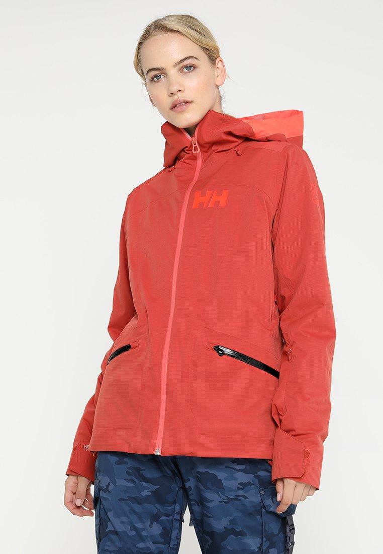 Helly Hansen - GLORY  - Snowboard jacket - red brick