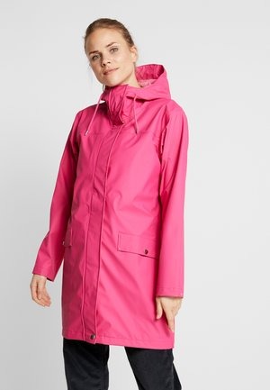 MOSS RAIN COAT - Waterproof jacket - dragon fruit