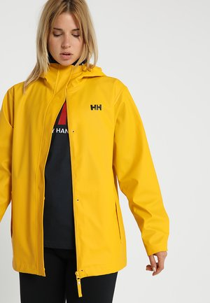 MOSS JACKET - Regnjacka - essential yellow