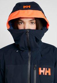 Helly Hansen - POWCHASER LIFALOFT JACKET - Snowboardjacke - navy - 6