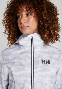 Helly Hansen - BELFAST PACKABLE JACKET - Hardshelljacka - white active grid - 3