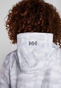 Helly Hansen - BELFAST PACKABLE JACKET - Hardshelljacka - white active grid - 4