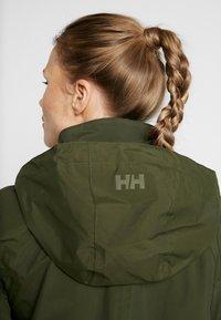 Helly Hansen - VALENTIA RAINCOAT - Hardshell jacket - forest night - 4