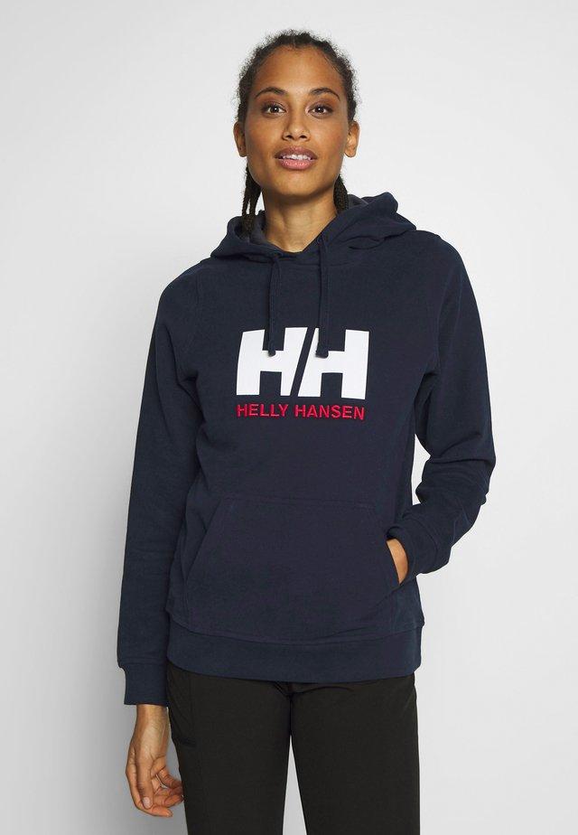 LOGO HOODIE - Hoodie - navy
