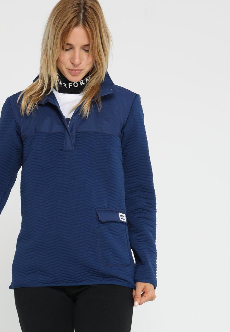 Helly Hansen - LILLO SWEATER - T-shirt à manches longues - dark blue