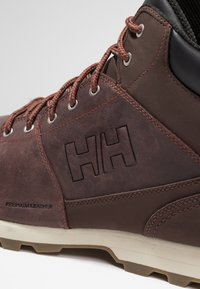 Helly Hansen - TSUGA - Walking boots - brunette/jet black/natura