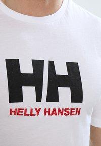 Helly Hansen - LOGO - T-shirt med print - white - 3