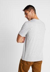 Helly Hansen - LOGO - Print T-shirt - grey melange - 2