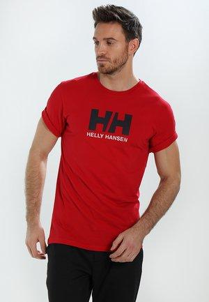 LOGO - T-shirt imprimé - red