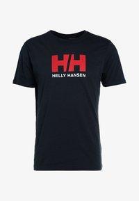 Helly Hansen - LOGO - T-shirt imprimé - navy - 4