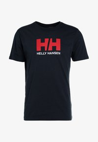 Helly Hansen - LOGO - Print T-shirt - navy - 5