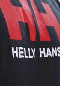 Helly Hansen - LOGO - T-shirt imprimé - navy - 5