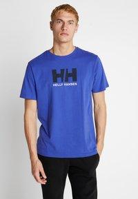 Helly Hansen - LOGO - T-shirt med print - royal blue - 0