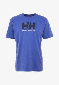 Helly Hansen - LOGO - T-shirt med print - royal blue - 3
