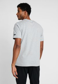Helly Hansen - T-shirt imprimé - grey melange - 2
