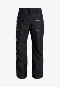 Helly Hansen - GARIBALDI PANT - Pantalon de ski - black - 3