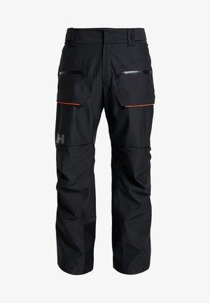 GARIBALDI PANT - Spodnie narciarskie - black