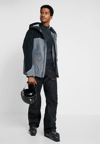 Helly Hansen - GARIBALDI PANT - Pantalon de ski - black - 1