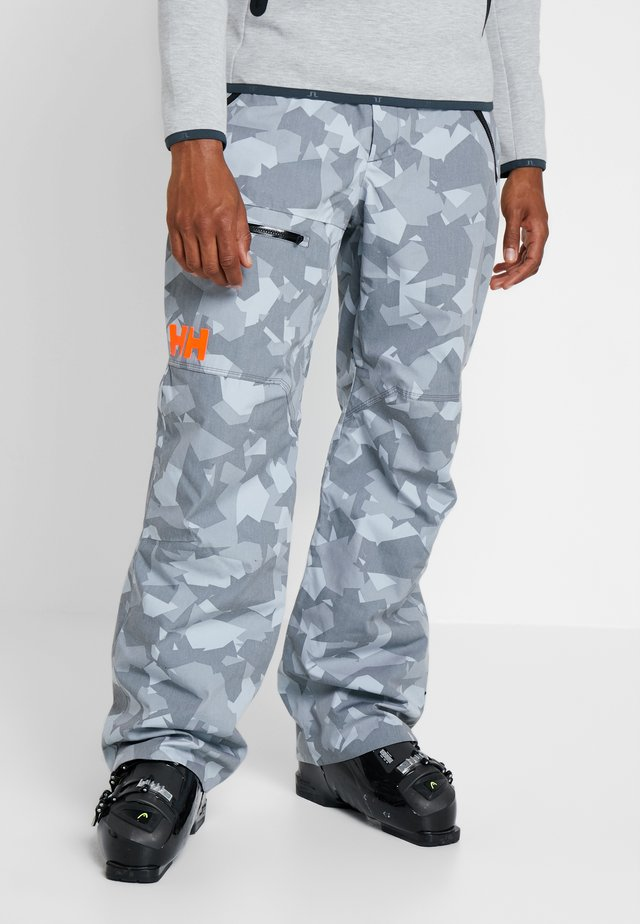 SOGN CARGO PANT - Snow pants - quiet shade