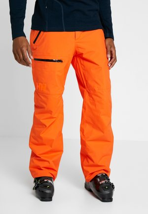 SOGN CARGO PANT - Pantalón de nieve - bright orange