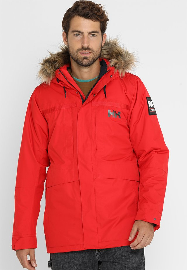 COASTAL - Winter jacket - red