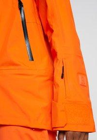 Helly Hansen - SOGN JACKET - Hardshell jacket - bright orange - 7