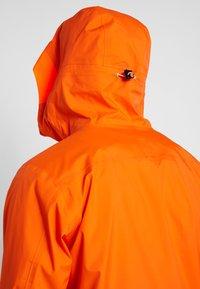 Helly Hansen - SOGN JACKET - Hardshell jacket - bright orange - 4