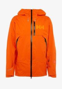 Helly Hansen - SOGN JACKET - Hardshell jacket - bright orange - 6