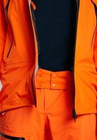 Helly Hansen - SOGN JACKET - Hardshell jacket - bright orange - 5