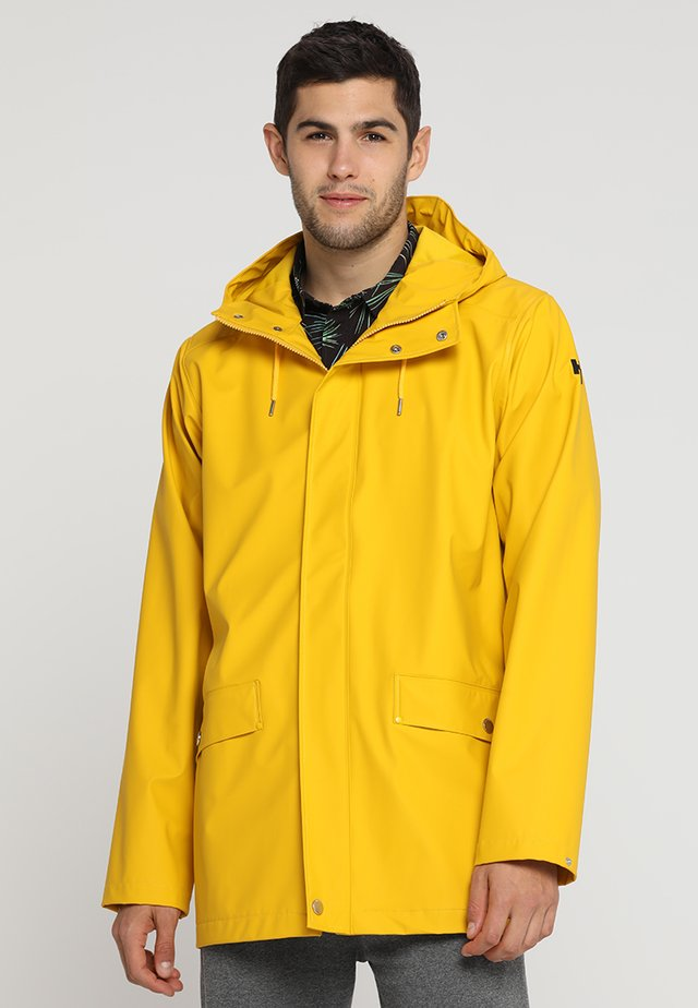 MOSS RAIN COAT - Vodotěsná bunda - essential yellow